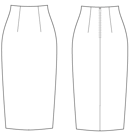 Pattern Cutting Classes - Construct Your Pencil Skirt