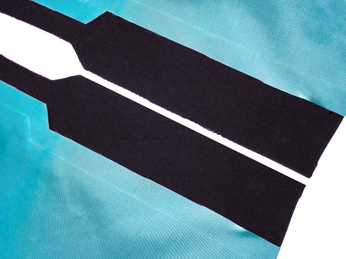 How to sew a lined slit step 1.1